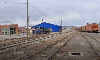 Ferroviaria Andina en Potosí