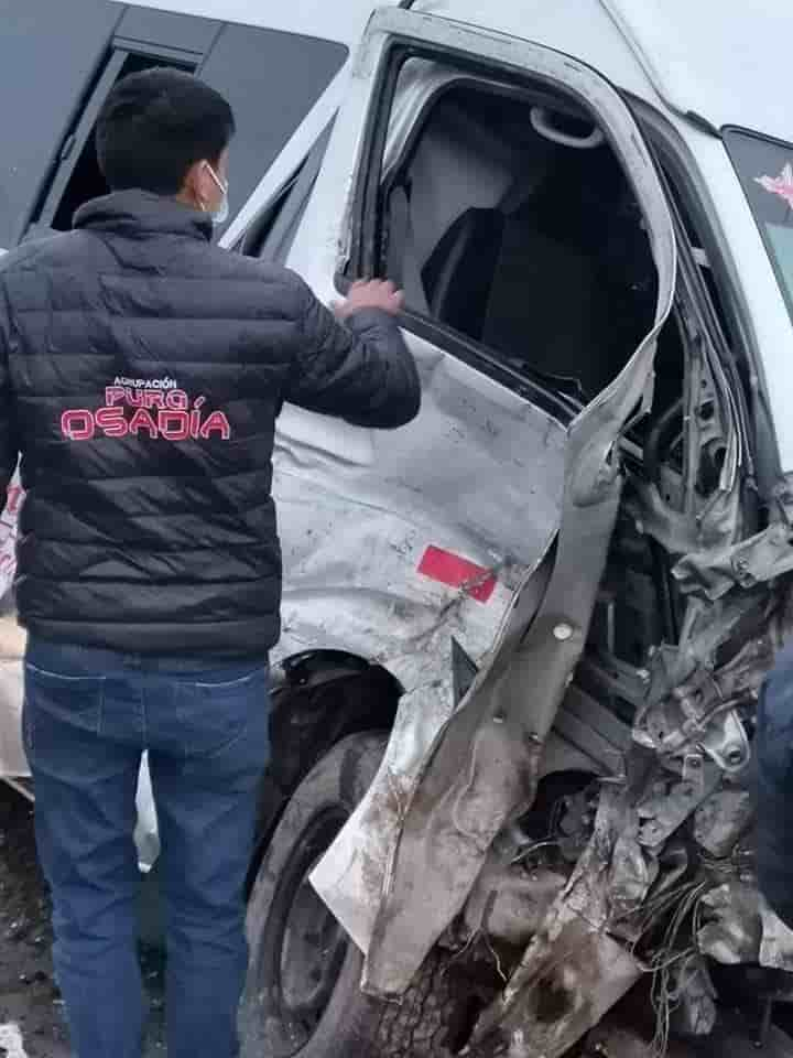 Grupo Pura Osadía accidente