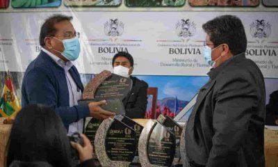 Investigadores de la Quinua Boliviana