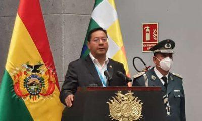 Luis Arce implementa medidas coronavirus