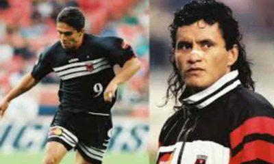 Marco Etcheverry y Jaime Moreno