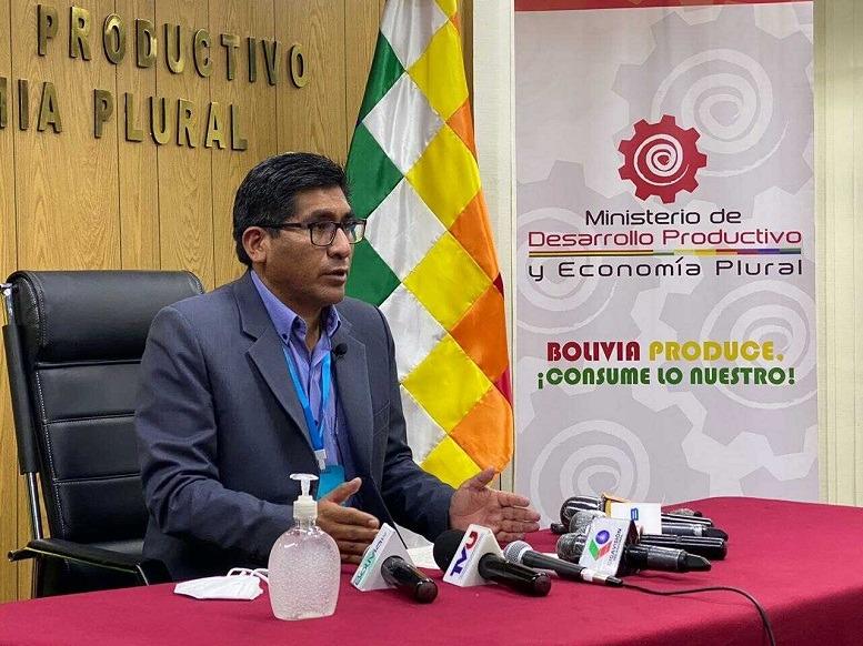 ministro de Desarrollo Productivo y Economía Plural