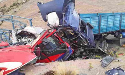 Accidente en carretera patacamaya deja 4 fallecidos