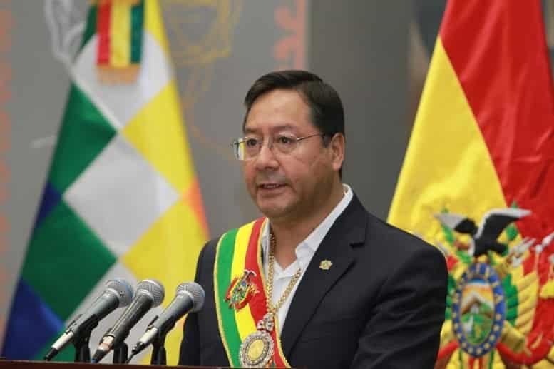 Bolivianos aprueban la gestión de Luis Arce