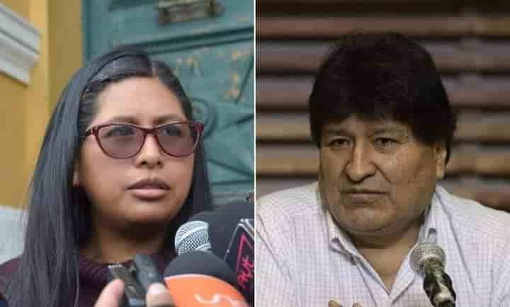 Eva Copa contra Evo Morales