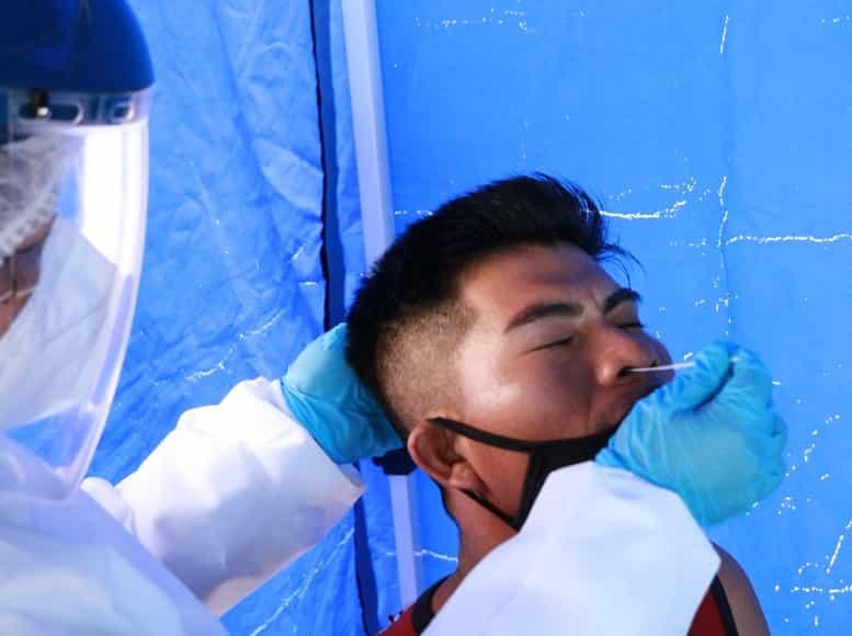 Prueba antígeno nasal