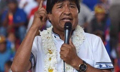 Evo Morales Covid-19