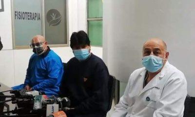 Evo Morales alta médica