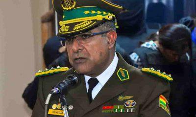 Faustino Mendoza excomandante de la Policía Boliviana