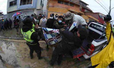 Accidente ocurrió en las avenidas Juan Pablo II y Tadeo Haenke