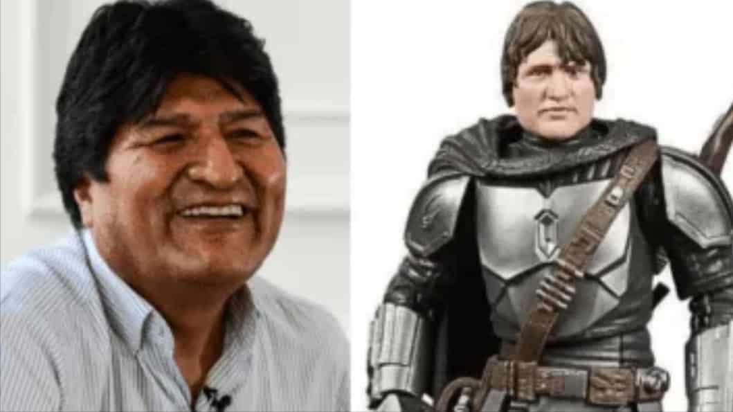 Juguete parecido a Evo Morales