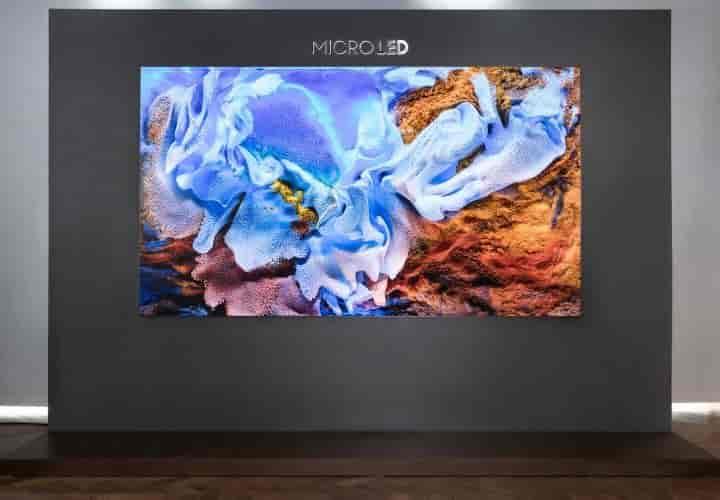 Samsung MicroLed 110 pulgadas