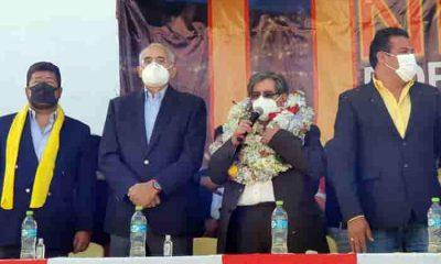 Waldo Albarracin retira su candidatura a la Alcaldía de La Paz