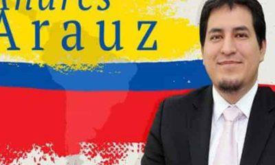 Andrés Arauz candidato a presidente de Ecuador