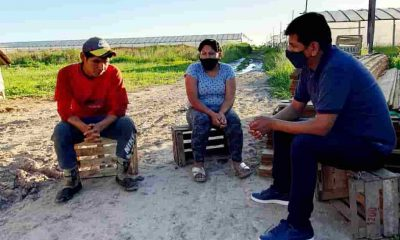Bolivianos en Olmos La Plata