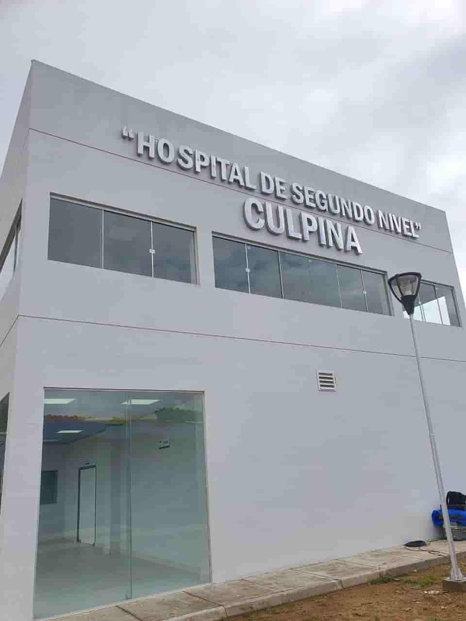 Hospital segundo nivel Culpina