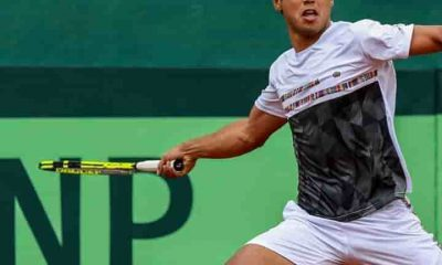 Tenista Boliviano Hugo Dellien en Córdoba Open