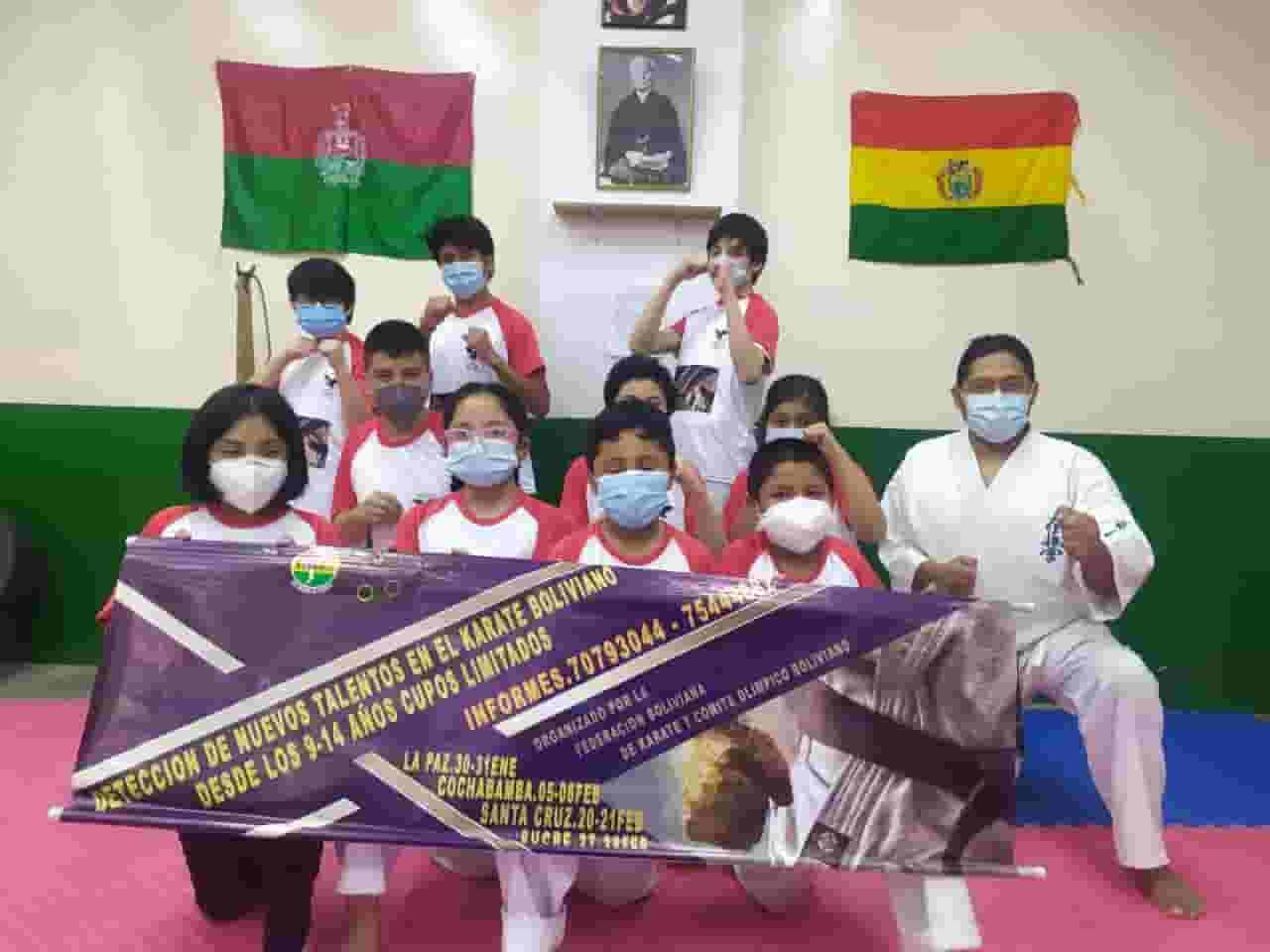 Torneos de Karate en Bolivia
