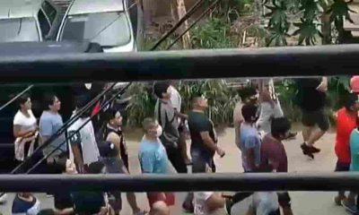 Ladrones desnudos en Villa Celina