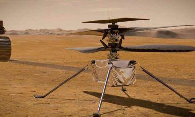 Helicóptero en Marte