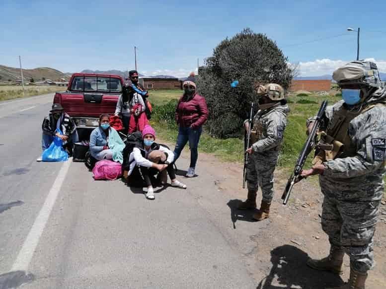 Venezolanos ilegales