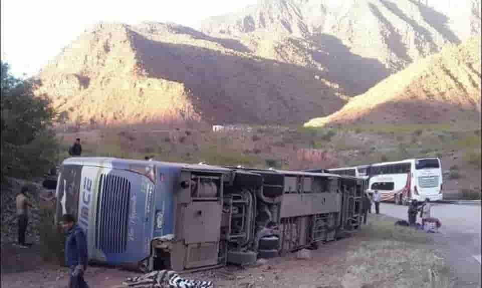 Accidente de Flota en Villa abesia Camargo