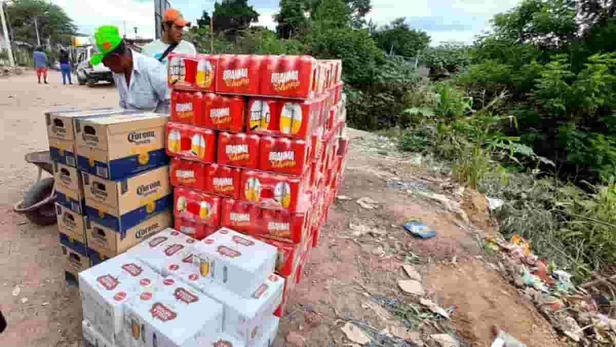 Contrabando en Yacuiba Bolivia