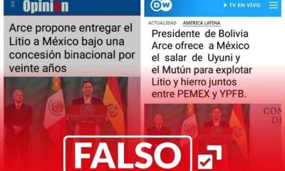 Noticia falsa