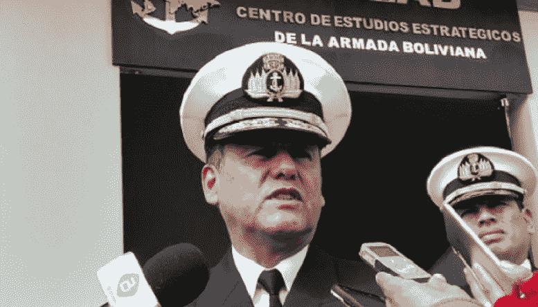 Excomandante de la Naval