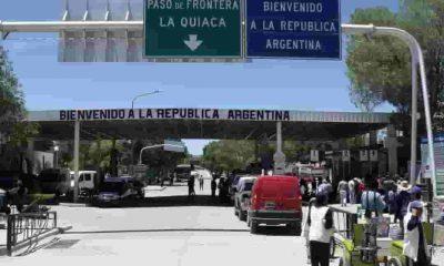 Apertura de la frontera La Quiaca-Villazón