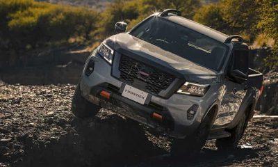 Nissan Frontier PRO-4X con tracción 4x4