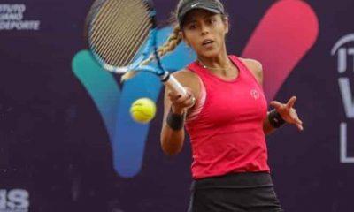 Tenista Noelia Zeballos