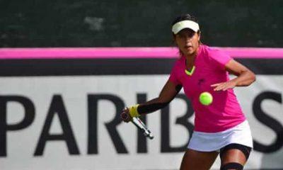 Tenista Boliviana Noelia Zeballos en Turquía