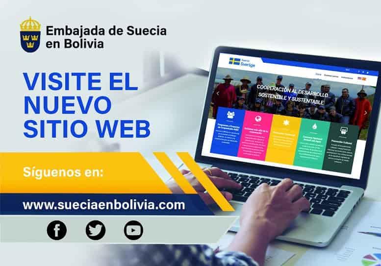 embajada de Suecia en Bolivia