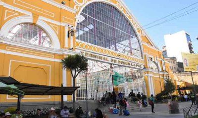 Terminal de buses La Paz