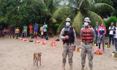 ayuda humanitaria y vituallas