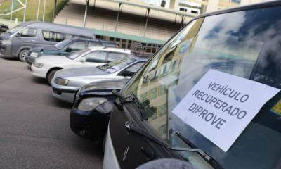 vehículos recuperados