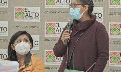Alcaldesa de El Alto