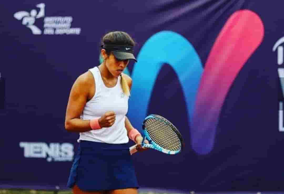 Tenista Boliviana Noelia Zeballos