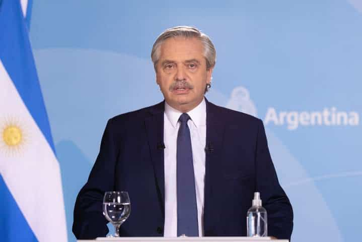 Alberto Fernández nuevas restricciones en Argentina