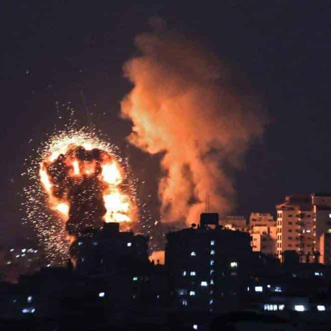 Ataque en Palestina