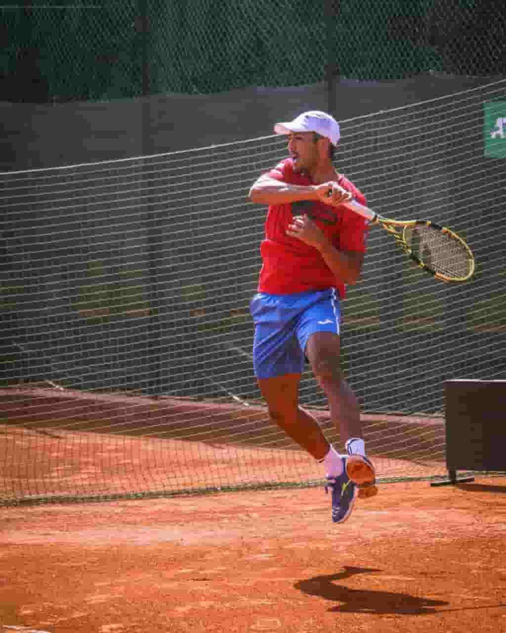 tenista Hugo Dellien en Challenger de Biella Italia