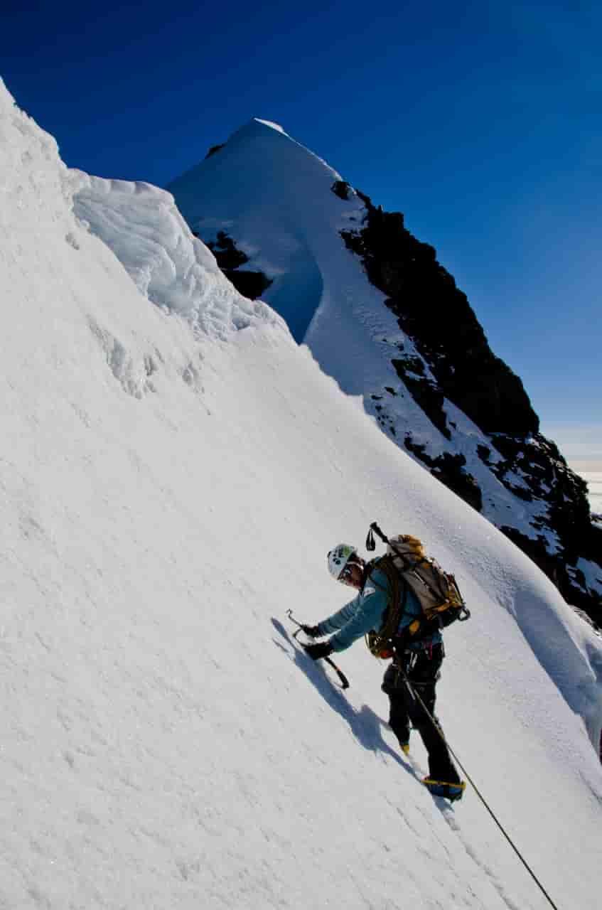 Alpinistas bolivianos