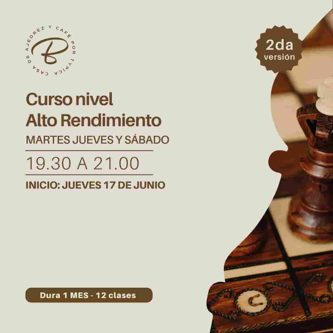 Segundo curso de ajedrez en Bolivia