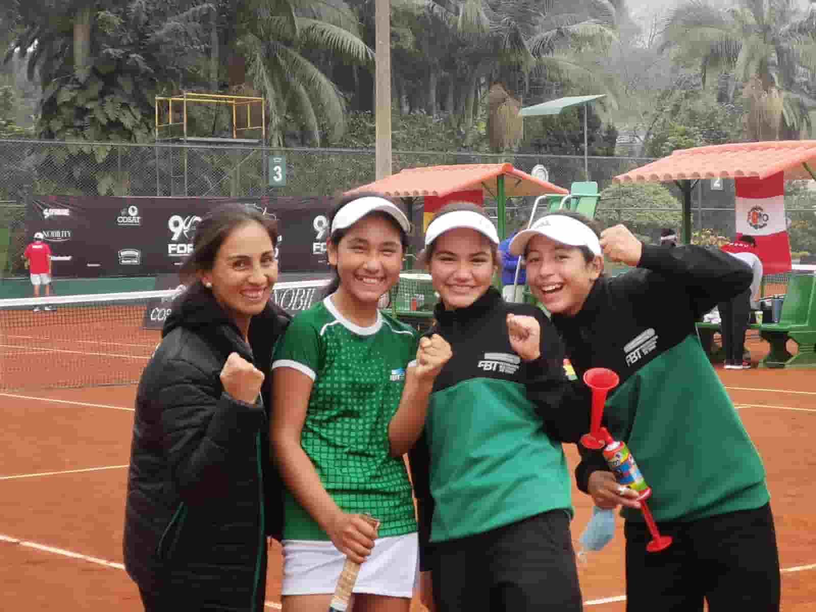 Selección Boliviana de Tenis en Lima