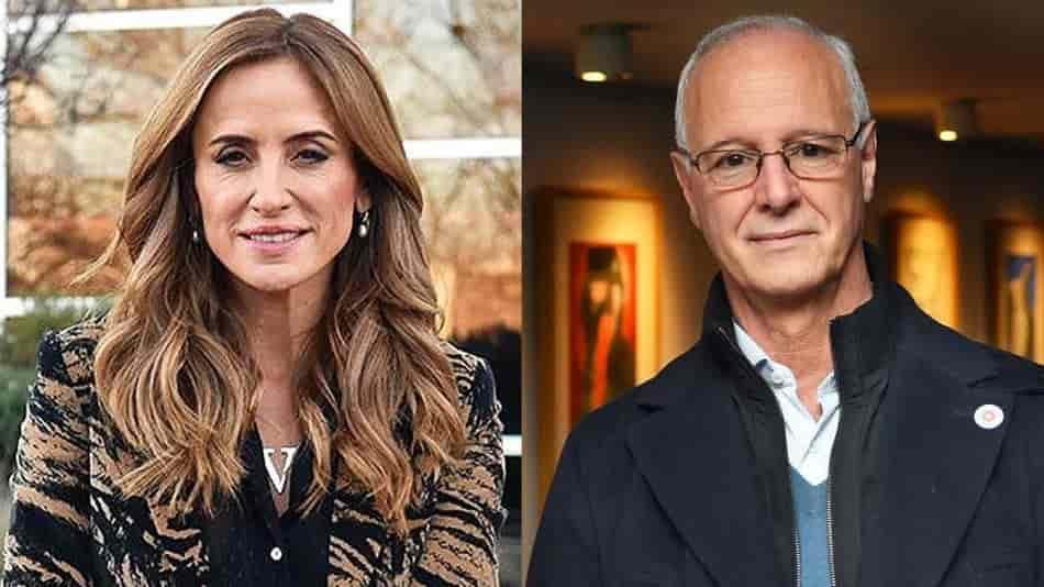 Victoria Tolosa y Daniel Gollan