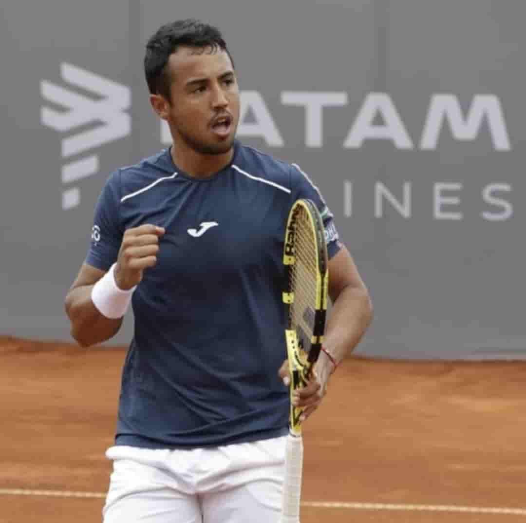 Hugo Dellien campeón en Perú
