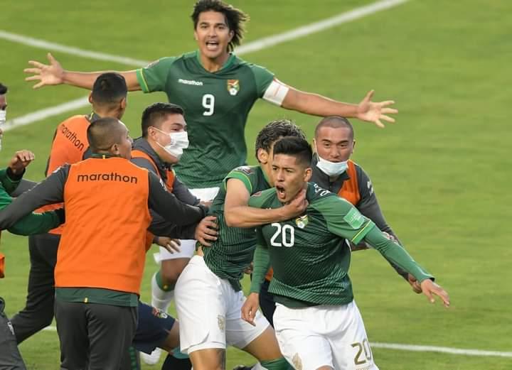 Gol de Vaca a Perú